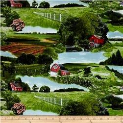 Homestead - Scenic Red Barns