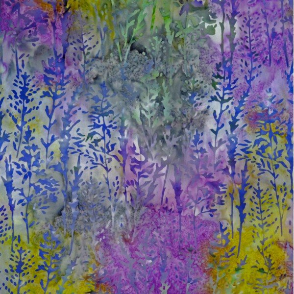 Batik by Mirah - Rhubarb - Greenery