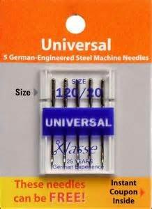 Klasse Needle 120/20 Universal