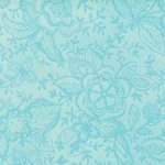 Coquette - Light Teal Print