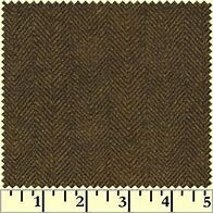 Woolies Flannel -  Brown