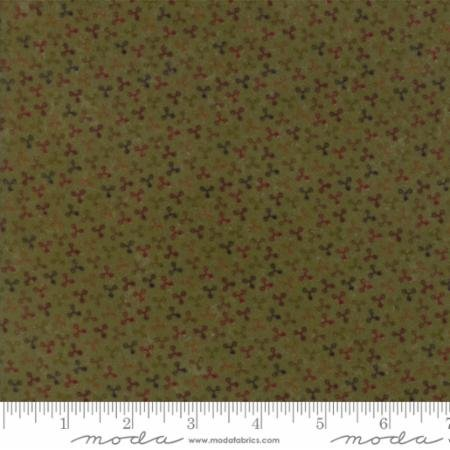 Country Road Flannel - Green Print
