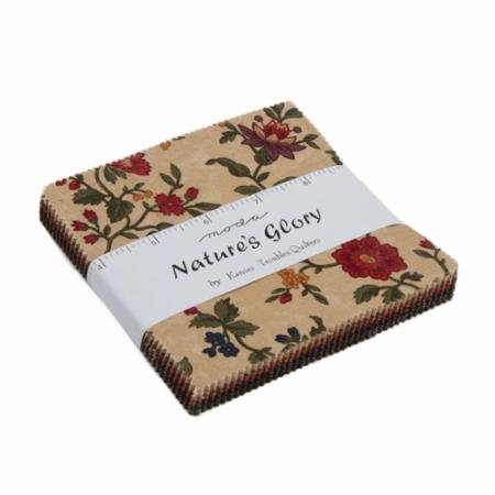 Nature's Glory  - Charm Pack