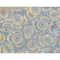 Wilmington Batik -  Petal Burst Blue