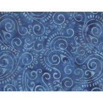Wilmington Batiks - Scroll Blue