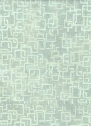Batik Textiles - Memos from Athena - Light grey squares