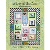 A Day at the Zoo - Embroidery Machine Pattern