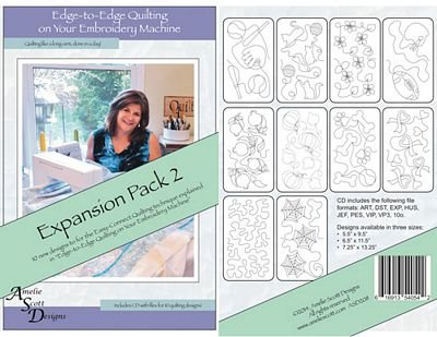Edge-to-Edge Quilting on Your Emb Machine Pack 2
