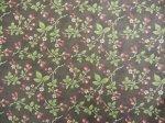 Audra's Iris Garden - sm print on cocoa