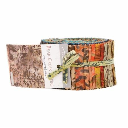 Bear Creek Batiks Jelly Roll