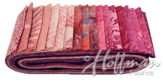 Bali Poppy - Blossom -  2-1/2 Strips