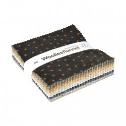 Woolies Flannel Neutrals  - Charm Pack
