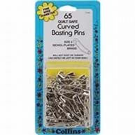 Basting Pins Curved - Size 2