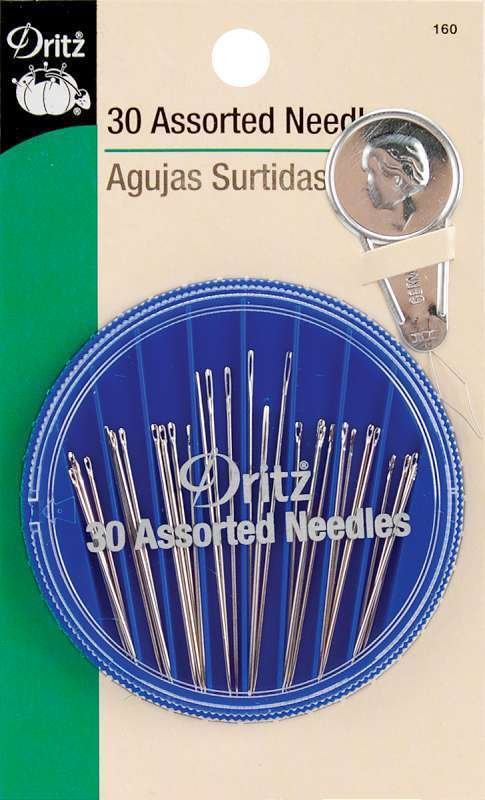 Hand Needle Compact 30ct Asstd