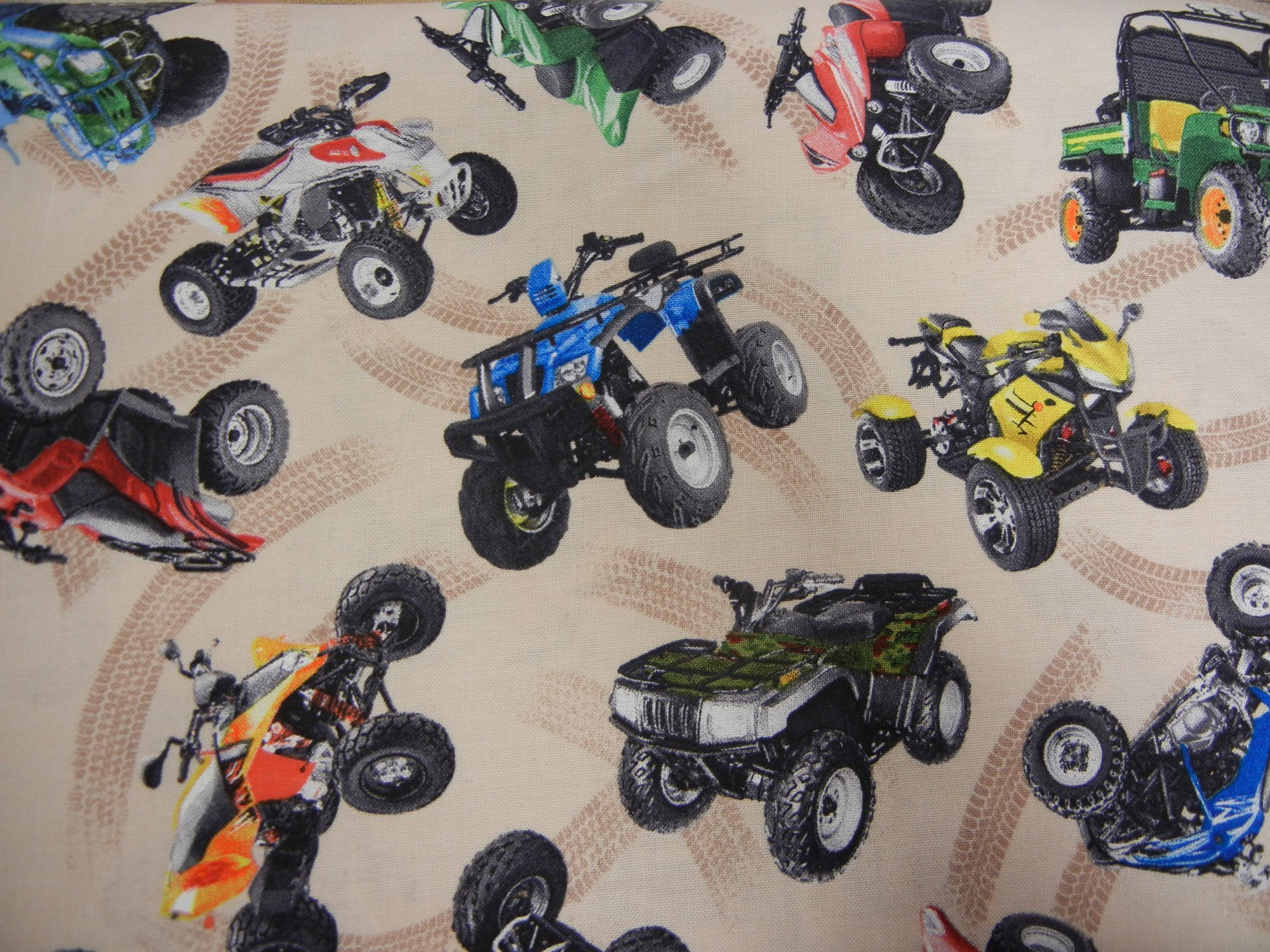 In Motion - 4 Wheelers on Cream