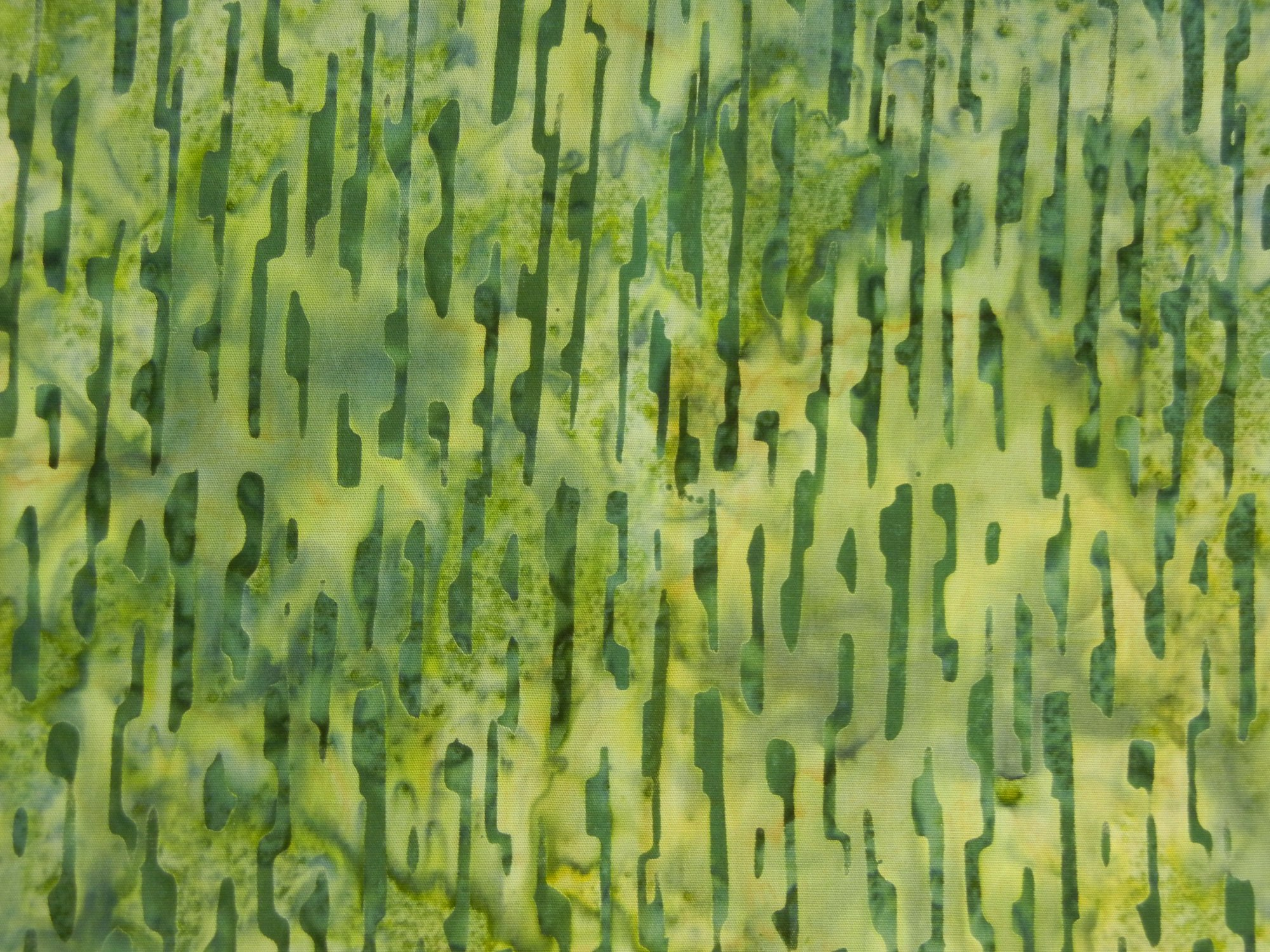 Birch Bark Batiks-Pine Green