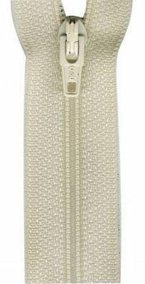 Polyester 14 zipper - Natural