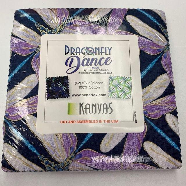 Dragonfly Dance Metallic - Blue