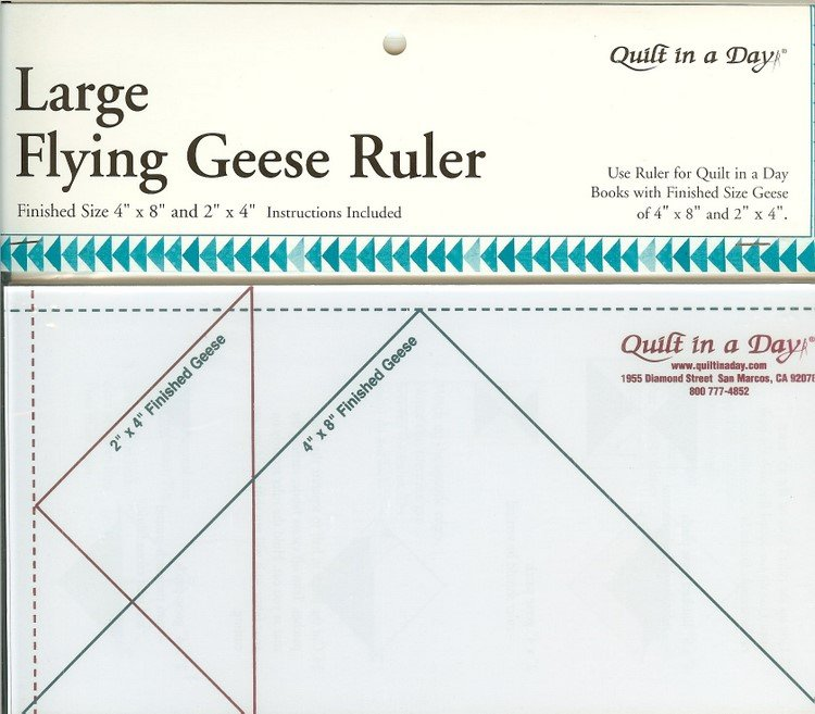 Quilt In A Day Large Flying Geese Ruler