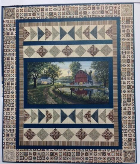 Homestead Panel Quilt