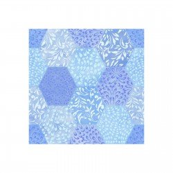 Ajisai Hydrangea -Shades of Light Blue