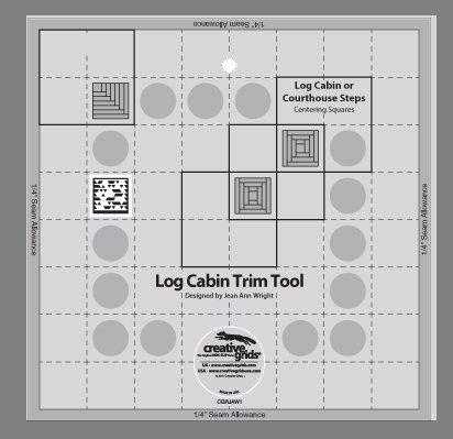 Creative Grids Log Cabin Trim Tool One - 8
