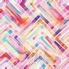 Fluttering By - Multicolored diagonal Stripes