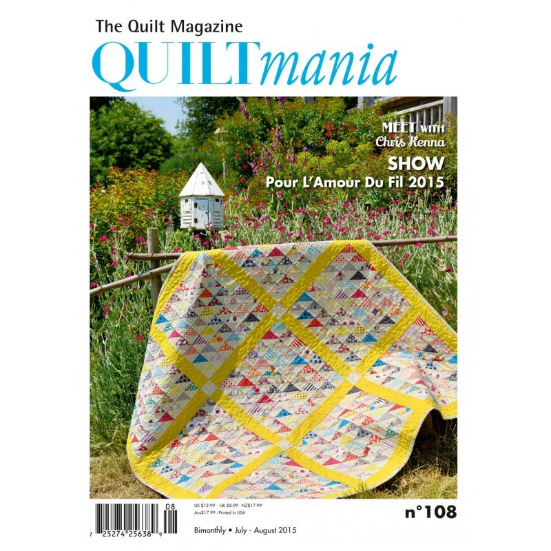 Quiltmania July-August 2015