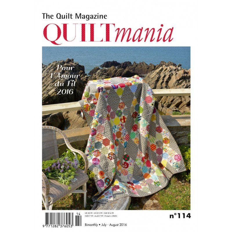 Quiltmania July - August 2016
