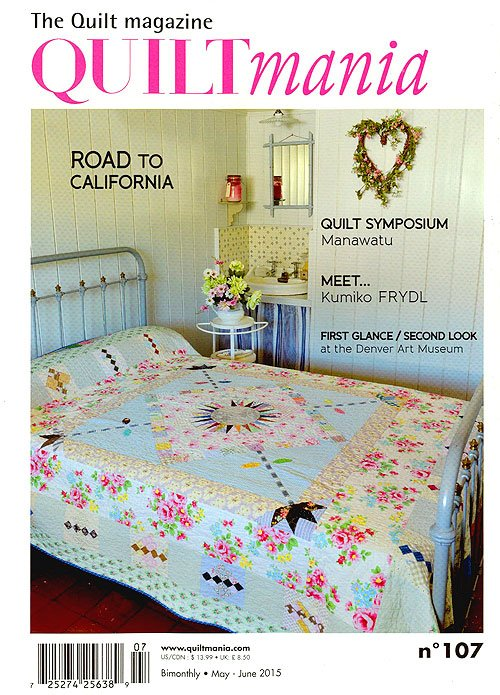 Quiltmania May  - June 2015