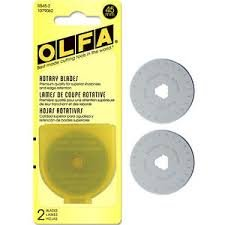 45 mm Replacement Blade - Olfa 2/pk