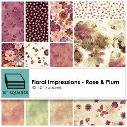Floral Impressions -  Rose Layer Cake