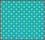 Ella's Basics Blue and Green Stars