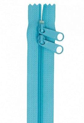 Zipper - 30 Double Slide Handbag Zipper-Parrot Blue