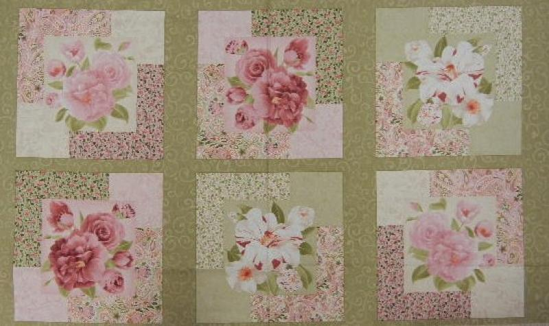 Floral Harmony - Panel