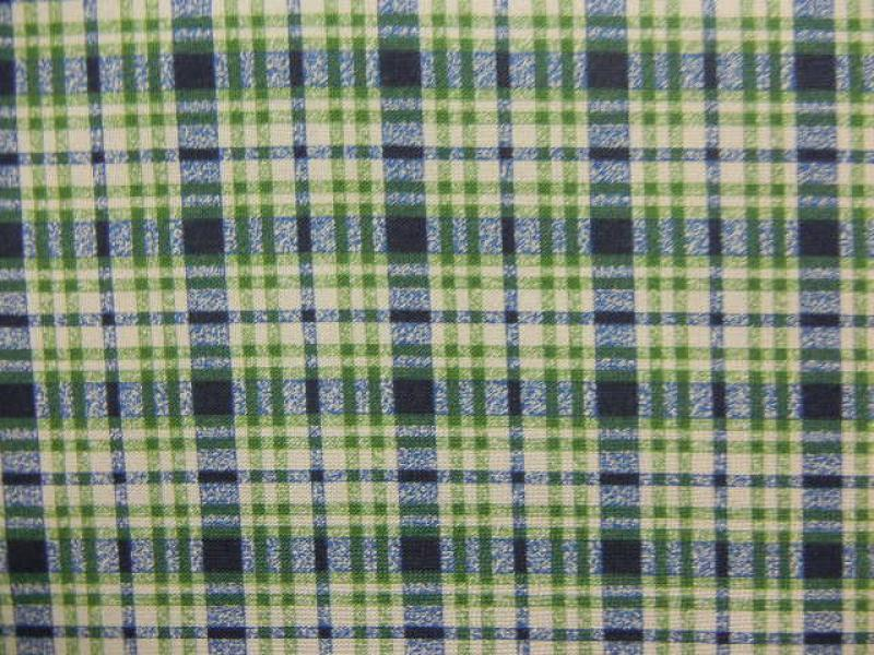 Naturescapes - Green/Blue Plaid