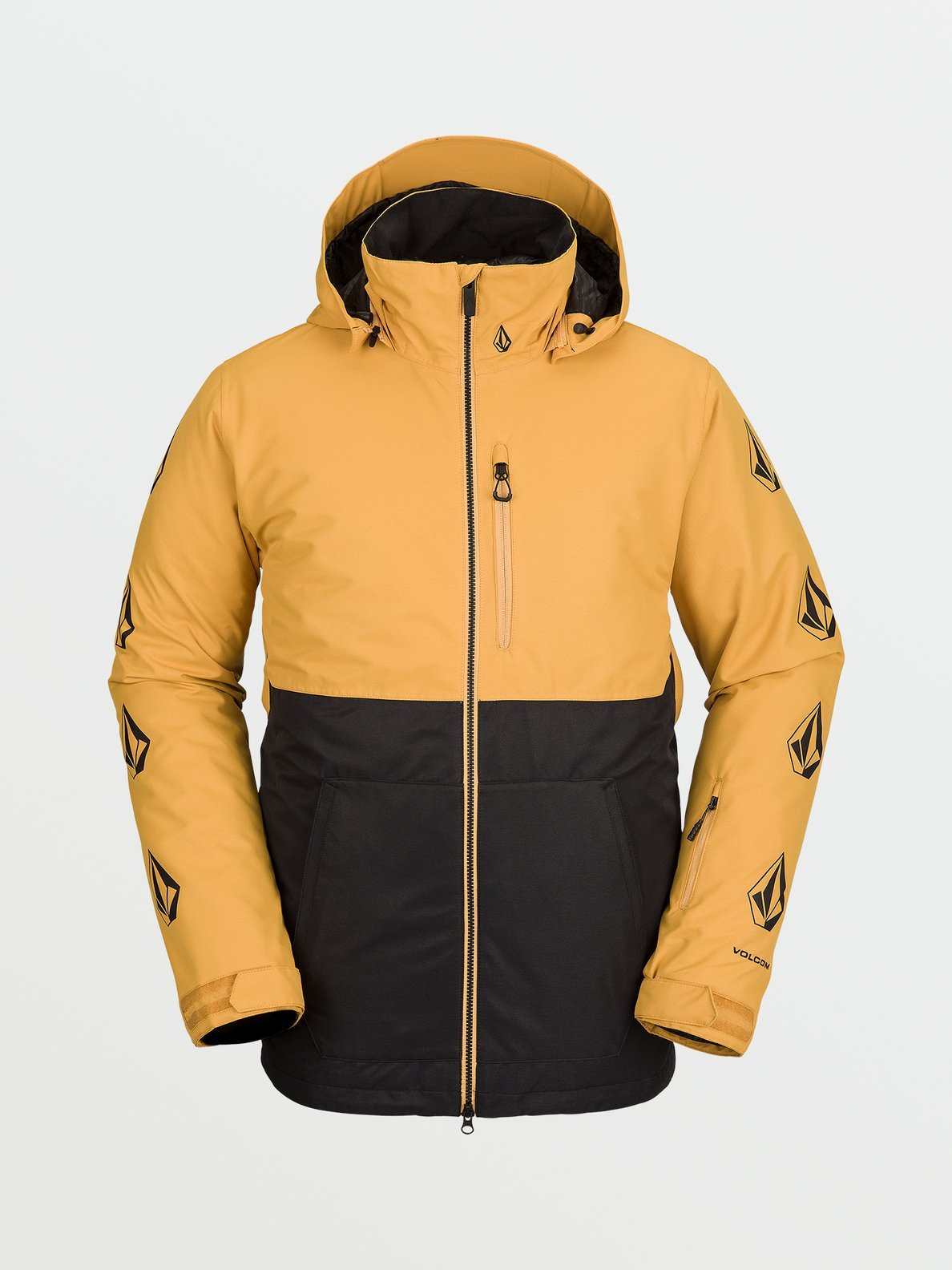 Volcom Deadly Stones Insulated Jacket Resin Gold