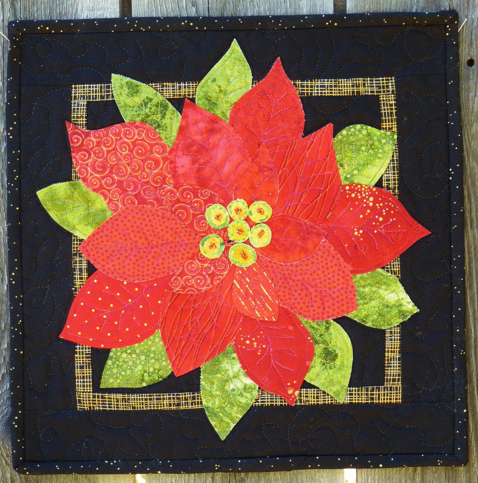 K576 Bloomin' Poinsettia - Kit