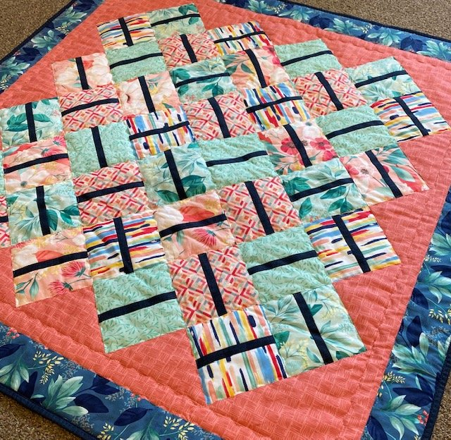 Woven Charm Quilt Kit