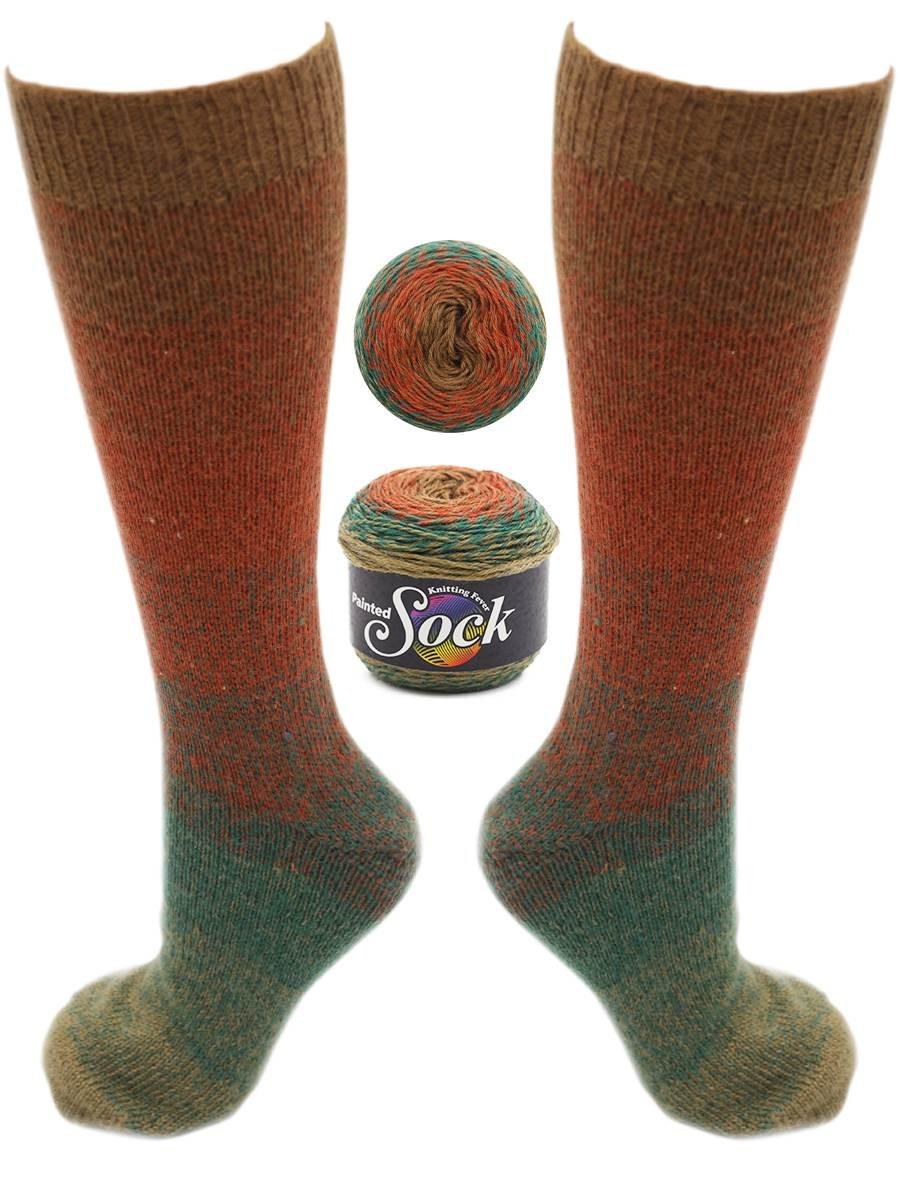 Painted Sock