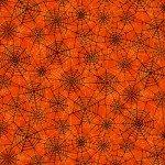 Orange Spider Webs