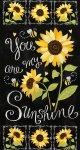 sunflower chalkboard panel