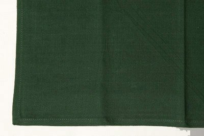 HEMSTITCHED NAPKIN GREEN