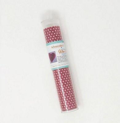 applique glitter sheet silver pink