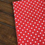 Red And White Polka Dot Towels 2/Pack