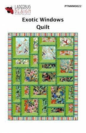 exotic windows quilt