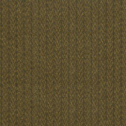 Woolies Flannel - Stitched Herringbone - Brown
