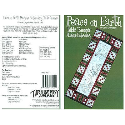 peace on earth table runner
