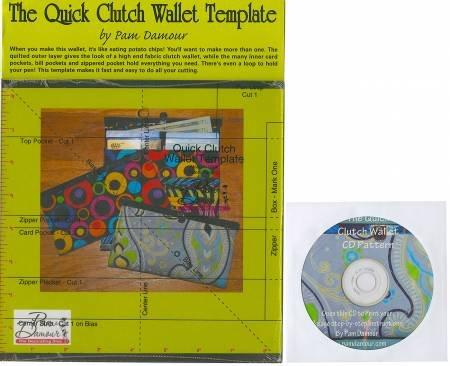quick clutch wallet template