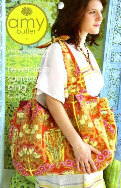 Amy Butler  Reversible Sunday Sling